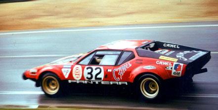 Pantera GR4. au Mans 1972