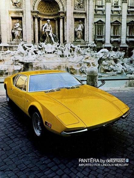 Pantera : le premier prototype roulant en mars 70