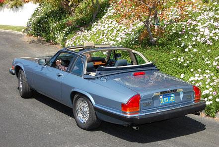 Jaguar XJS-C : première tentative de découvrable