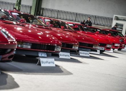 Ferrari Testarossa en vente chez Bonhams