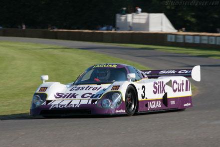 Jaguar XJR-12 n°3 vainqueur au Mans 1990