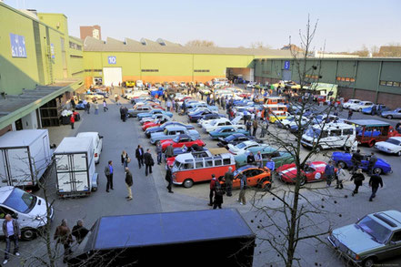 Techno Classica, Essen, vente sur les parkings