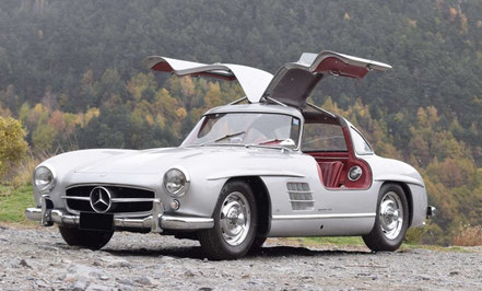 Mercedes 300 SL Gullwing, 1 158 270 €