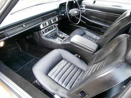 Jaguar XJ-S : intérieur des premières séries