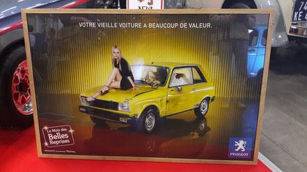 Publicite occasions du Lion Peugeot