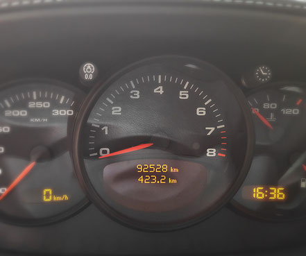 Tableau de bord Porsche 996 4 S