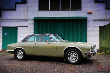 Jaguar XJ-C, rare coupé sur la série 2