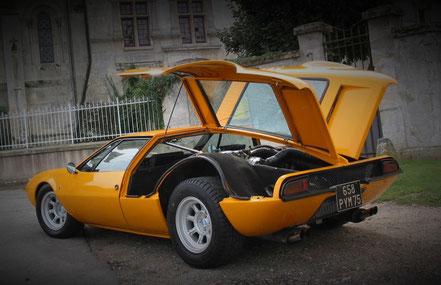 De Tomaso Mangusta : la première à utiliser le V8 Ford en 1967