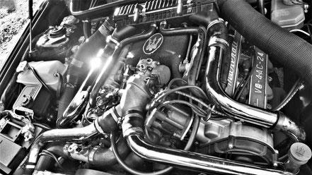 Moteur V6 4 AC Maserati  2.24v