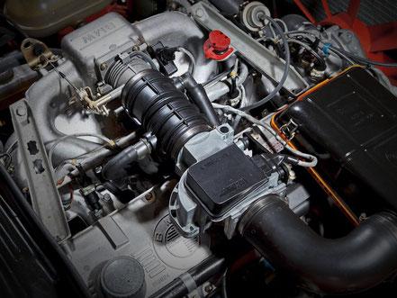 BMW 635 CSI moteur