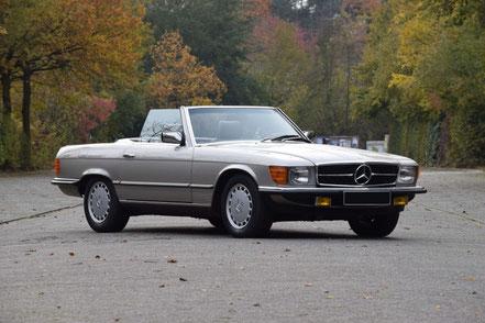 Mercedes 500 SL 1986, 107 280 €