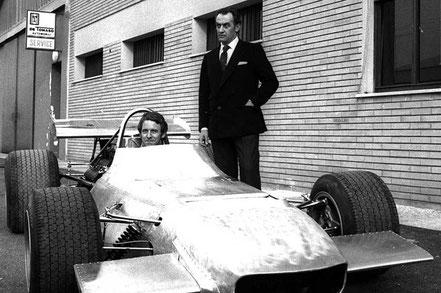 De Tomaso 1970 Formule 1 proto 1970