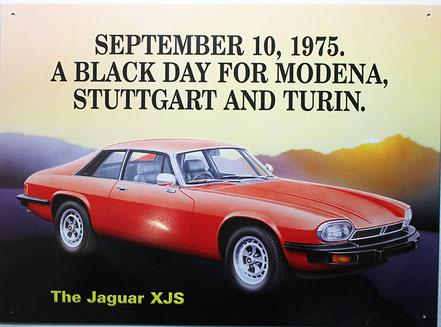 Publicité de lancement  - Jaguar XJ-S