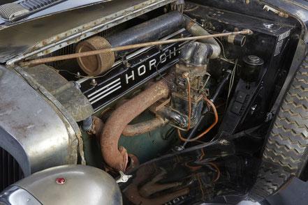 Horch 853 Sport, 1937, Artcurial, mécanique d'origine