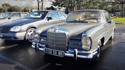 Mercedes W140 et W111 Coupé