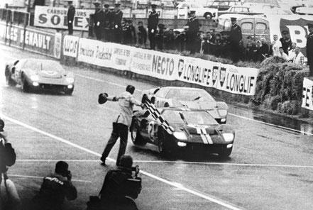 Ford GT 40 victorieuses au Mans 1966