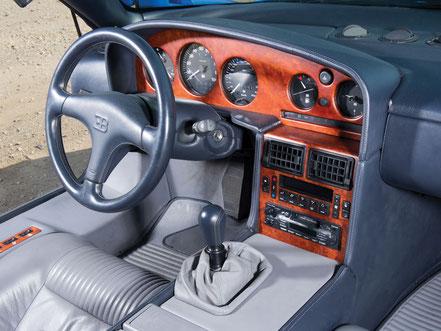 Poste de conduite Bugatti EB 110