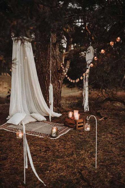 Paket Boho Deko Hochzeit