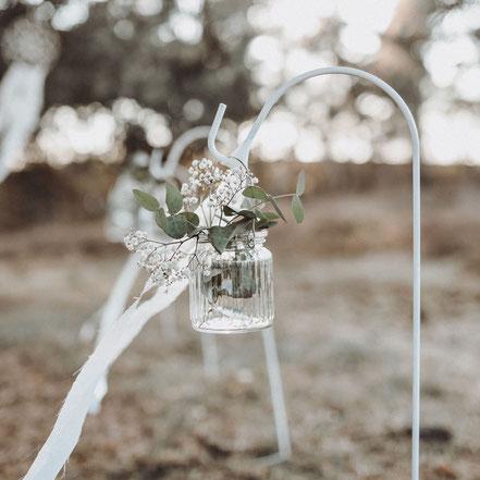 Erdspieße Hochzeitsdekoration
