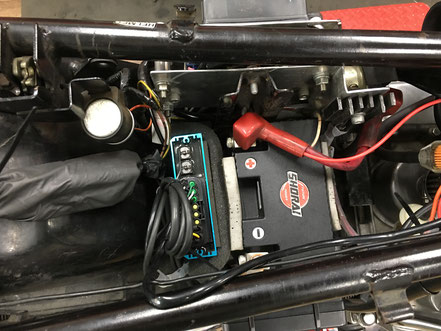 Z1 ウオタニ パムスヒューズボックス 電装改造