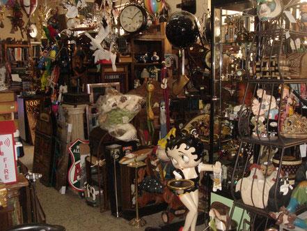 Interior tienda El Laberinto