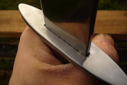 Der Berggeist Schwertgriff Schwertparier Schwertknauf