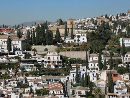 Andalusien Individualreise, Südspanien auf eigene Faust, Granada Altstadt