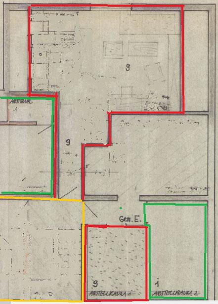 Pflege der Teilungserklärung durch die Zebra Hausverwaltung am Beispiel einer Bauzeichnung