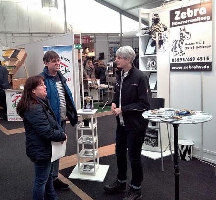 Gespräche  der Zebra Hausverwaltung in Paderborn
