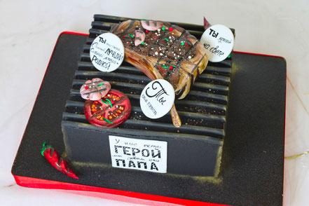 торт мужу на день рождение