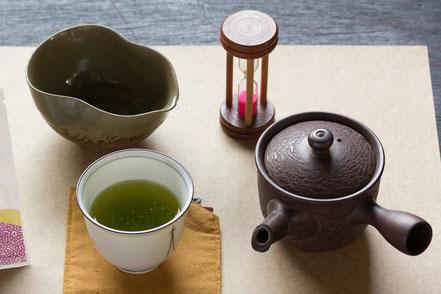 深蒸し煎茶セット