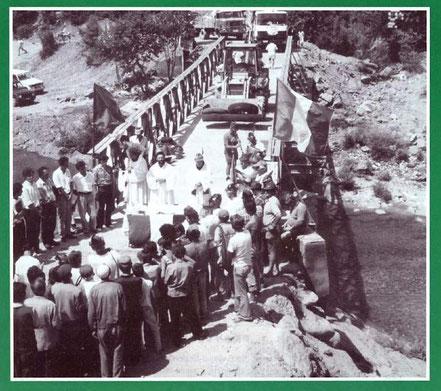 """Inaugurazione del ponte (""""Il Montebaldo"""" n. 8/9 - 1995)"""