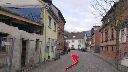 in der Kirchstrasse weiter zur Alten Synagoge