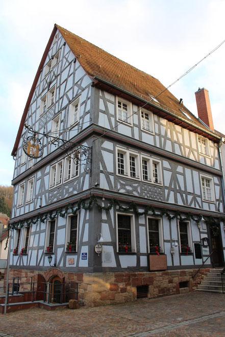 Altstadtrundgang Otterberg, Blaues Haus