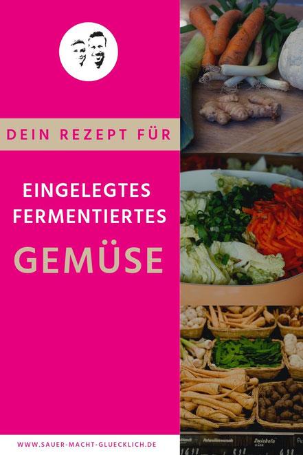 fermentierter Gemüse-Mix