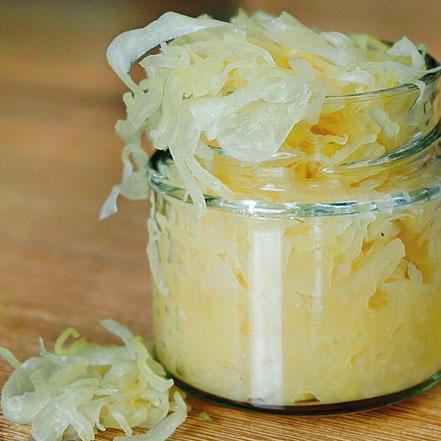 Sauerkraut wie lange fermentieren? Sauerkrautsaft