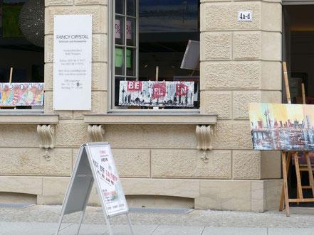 Pamela Henning-Salomone, Kick off Galerie neben dem Barberini Museum