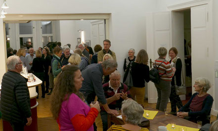 """Eröffnung von """"Kunst im Kiez"""" in der Villa Folke Bernadotte"""