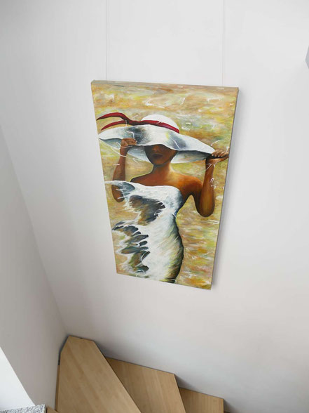 Sissy Walldorf, Kick off Galerie neben dem Barberini Museum