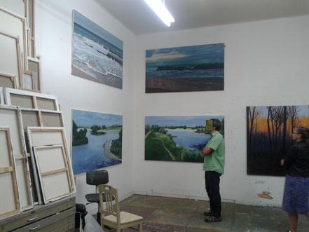 Berthold Bock, Malerei, Art Spring 2018