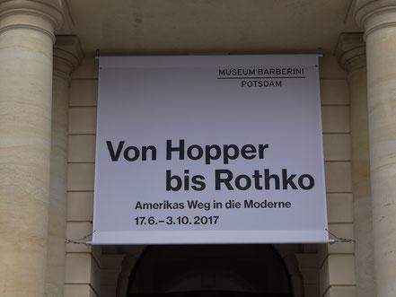 Von Hopper bis Rothko. Barberini Museum Potsdam