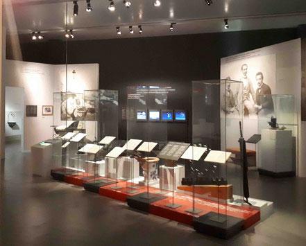 Einsteins Leben und Werk im Museum