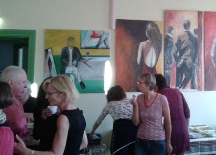 Vernissage Tango Argentino. Kulturhaus Alte Schule