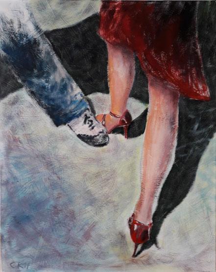 Caroline Roling mit einer Tango Impression