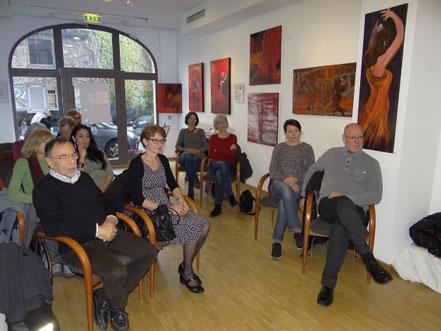Lesung Peter Kamber in der Tango Ausstellung