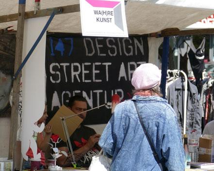 Design Street Art Agentur,  Kunstmarkt Steglitz