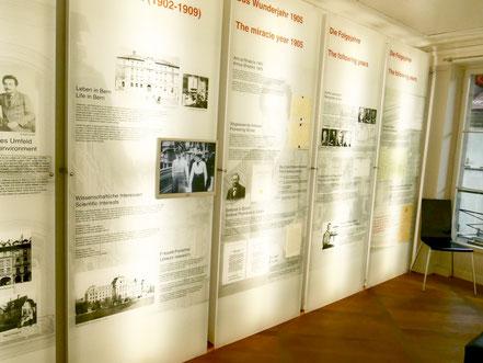 Einstein Haus, Ausstellung, Kramgasse 49, 3000 Bern 8, Schweiz