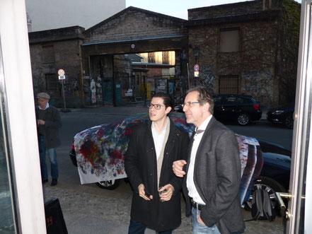 Alonso Alvarez und Georg Grell im Gespräch