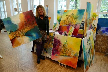 Ulrike Mücke, Malerein aus Österreich