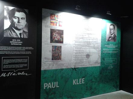 Vorraum der Ausstellung
